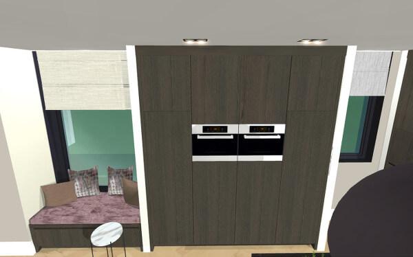 Interieuradvies keuken luxe villa Wierden
