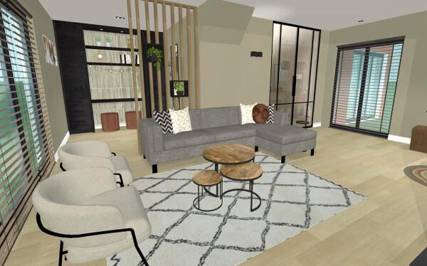 Interieuradvies verbouwing woonkamer Neede