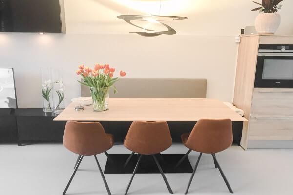 Interieurontwerp nieuwbouw Enschede woonkamer