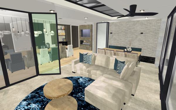 Interieurontwerp serre villa Wierden