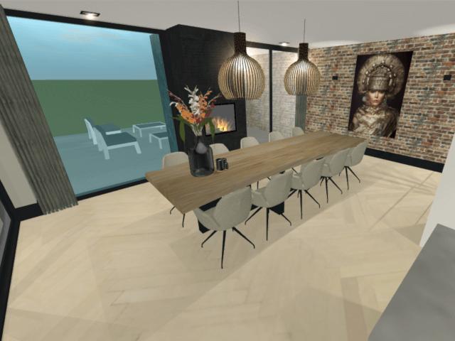 Totaalontwerp villa Lonneker 8