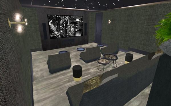 interieurontwerp bioscoop villa Enschede