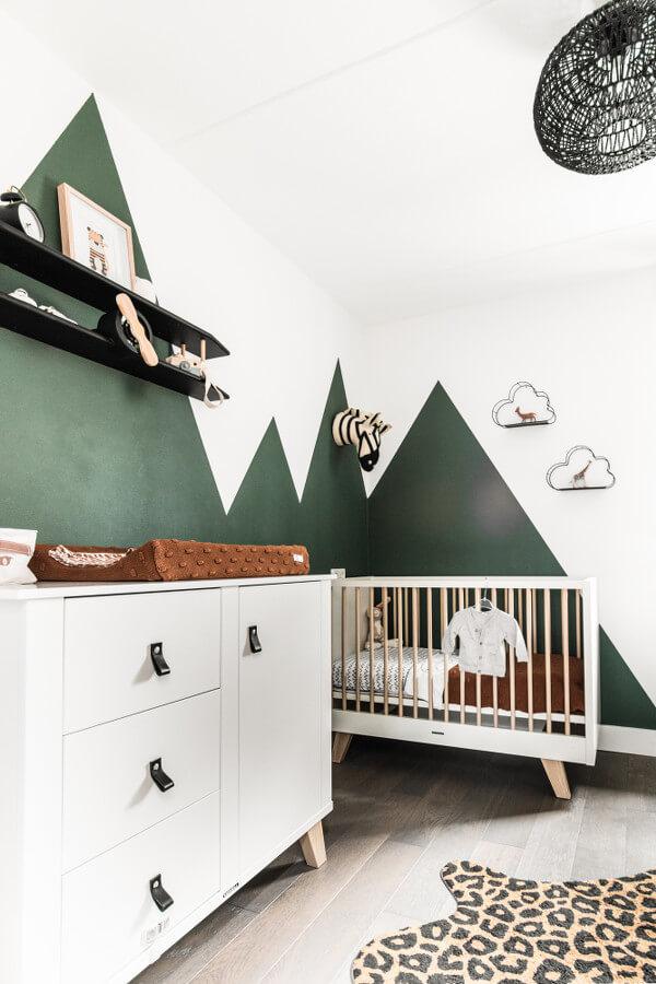 interieurplan babykamer Enschede